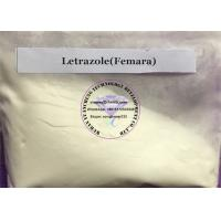 Femara Anti Estrogen Steroids Buliking Cycle Letrazole Raw Powder For Sale 112809-51-5 Manufactures