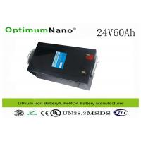 Deep Cycle Lithium 12v30ah Battery for Golf Trolley / Electric Scooter / Wheelchairs Manufactures
