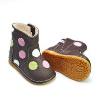 Great leather infant baby shoes PB-6051BR