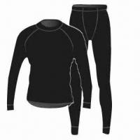 Merino Wool Thermal Underwear, 100% Machine Washable, Natural Stretch Manufactures
