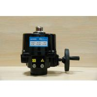 15W Electric Control Valve Actuator Heavy Duty Spring Return Red Or Black Color Manufactures