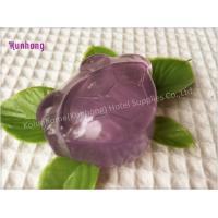 Transparent Handmade wholesale hotel toilet bath soap glycerin soap