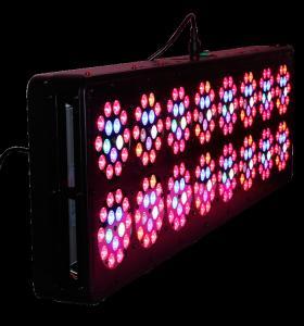 China AC100-277V LED Grow Lights APOLO 16 400W PPF 1.8umol/J Alluminum Material on sale