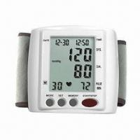 Wrist Blood Pressure Monitor with Oscillometric Method of Measurements and 48 Sets Memories Manufactures