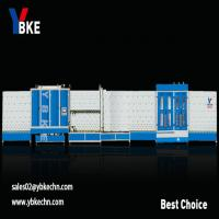 Double glazing unit making glass washing machine with press line Manufactures