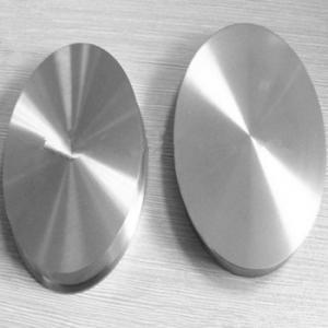 High Purity nickel sputtering target N4 N6 Manufactures