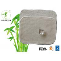 Reusable Bamboo Organic Baby Wipes , Washable Bamboo Reusable Cloth Wipes Manufactures