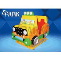 Kids Coin Pusher Game Machine Electric  Jeep Car  With CE Certification Manufactures
