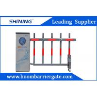 IP44 LED Traffic Parking Lot Barrier Gate , 2mm steel Security Driveway Barriers