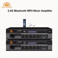 China RH-AUDIO Professional Audio 2.4G Mixer AMplifier with FM/MP3/Bluetooth on sale
