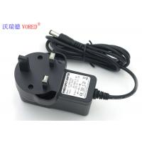 UK Standard Universal Ac Dc Power Adapter , 1 Ampere Wall Adapter Power Supply Manufactures