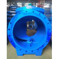 Rubber Sealed Eccentric Ball Valve / WCB Ball Valve With Strong Decontamination Capabilities