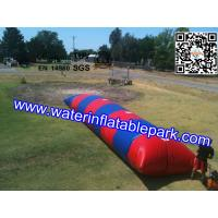 Kids Inflatable Water Blob With Outdoor Pool , Funny  InflatableWater Games Manufactures