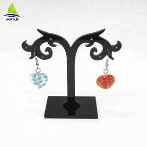 Elegant Acrylic Jewelry Display Black Tree Acrylic Earring Display Stand Holder Rack Manufactures