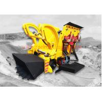 Pneumatic Air Rock Loading Machine 0.26 M3 Bucket Volume With Air Motor Manufactures