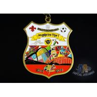Fashionable Design Enamel Medals 3d Medals 12 Colors And Gold Plating Manufactures