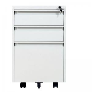 Commercial A4 File 390X500X625mm 3 Drawer Mobile Pedestal Manufactures