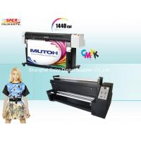 High Precision Mutoh RJ 900c Sublimation Fabric Printer With Epson DX5 Head Manufactures
