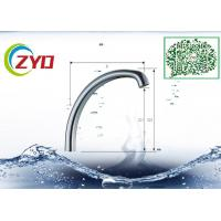 C1 Type Single Level Millior Polished Chrome Faucet Accessory Brass Sink Faucet Spout Pipe Manufactures