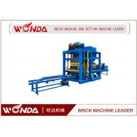 China Cement Concre Automatic Brick Making Machine , Brick Making Equipment/ Forming Machine on sale