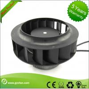 Backward Curved EC Motor Fan / Centrifugal Exhaust Fan Blower High Volume