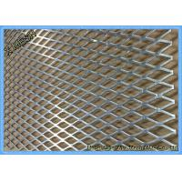 Buy cheap Flattened Heavy Duty Expanded Metal Mesh 4x8 Mild Steel Sheet For Flooring from wholesalers