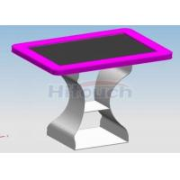 Quality 42 inch advertising interactive touch table, IT700 for exhibition hall / meeting for sale