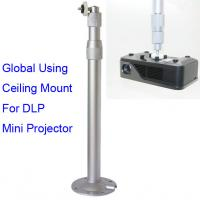 Aluminum Alloy Universal Ceiling Mount For Mini DLP LED Projector 30 to 60cm Adjustable Manufactures