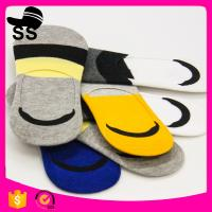 2017 Yiwu 69% Cotton 25 % polyester 6%Spandex Wholesale Distributors Knit Custom Elite Man Low Cut Men Winter Boat Socks Manufactures