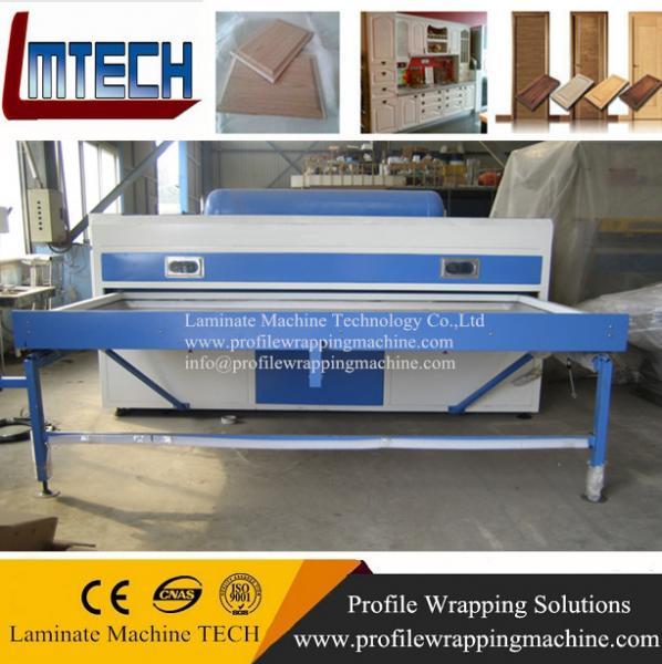 New modular design PVC kitchen cabinet door vacuum membrane press machine