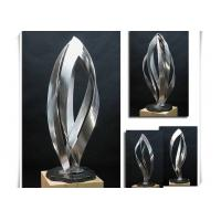 Garden Park Stainless Steel Sculpture 100cm Height Brushed Finishing Manufactures