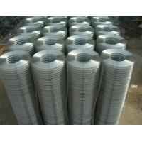 1 /2 Inch Electro Galvanized Welded Steel Wire Mesh With 15 - 30m Mesh Length Manufactures