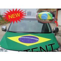Promotional Car Hood Covers National Digital Sublimated Printting Flag 80*120cm Manufactures