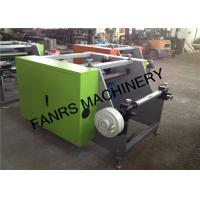 Quality Semi Automatic Aluminium Foil Rewinder Machine For Food Foil Film Rewinding wholesale