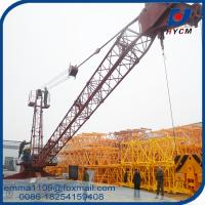 8000kg Capacity QD80 2015 Model Derrick Crane 20m Boom Jib Specification Manufactures