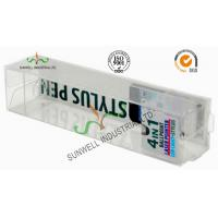 Electronics Ballpoint Plastic Packaging Boxes , Clear Plastic Display Boxes Manufactures
