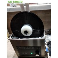 6 Litre Table Top Ultrasonic Cleaning Machine , Ultrasonic Record Cleaner SS 304 Manufactures