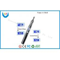 Vamo E-Cigarette With Vivi Nova Clearomizer , Variable Voltage Ecig 3v - 6v 3v - 6v Manufactures