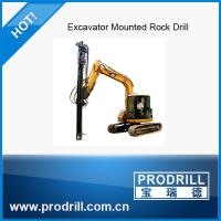 Pd-45 Excavator Mounted Drills Manufactures