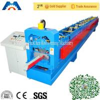 China Portable Gutter Roll Forming Machine , Cold Roll Forming Equipment High Speed on sale