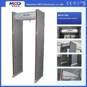 6 Detect Zones Door Frame Metal Detector With Audio Alert LED Location Lamp Manufactures