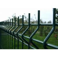 Cheap Price High Quality PVC Coated 1.83m Height Curved Welded Wire Mesh Fencing Manufactures