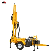 1 Year Warranty 33kw Dth Water Well Drilling Rig Manufactures