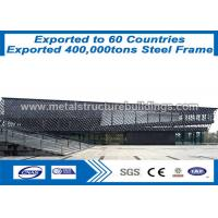 China Galvanized Modular Prefabricated Steel Structures Metal Buidings With ISO on sale