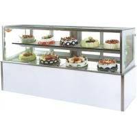 Buy cheap Eco - Friendly Cake Display Refrigerator With Micro Computer Control For Bakery from wholesalers
