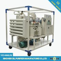 CE Portable Vacuum Decolorizaation Transformer Oil Purifier Machine Remove Water And Impurities Manufactures