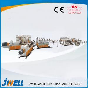 China Co Extrusion Wpc Door Production Line, Wpc Production Line Vibration Resistant on sale