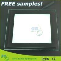 SMD5730 Glass Square LED Ceiling Lights For Offices And Commercial Manufactures
