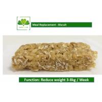 Cheap 100% Natural Food Weight Loss Protein Bars Biscuit Cookie For Satiety for sale