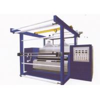 Cheap Double roller natural luster fabric rolling machine for polishing of fabrics for sale